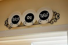 Trick or Treat Places - can make with different sayings or pictures for various holiday