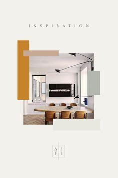 Design elements that are inspiring us for Fall portfolio Interior Inspiration Portfolio Design Layouts, Layout Design, Café Design, Home Design, Design Elements, Interior Design And Graphic Design, Interior Design Magazine, Interiors Magazine, Magazine Design