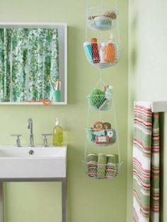 20 coole Einrichtungsideen fürs kleine Badezimmer  - #Badezimmer