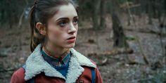 Natalia Dyer as Nancy Wheeler in Stranger Things