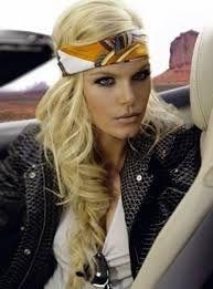 bandanas for women hairstyles - Google Search
