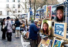 Image detail for -El Paris Bohemio: Montmartre y Pigalle Montmartre Paris, Place Du Tertre, Place Vendôme, Louvre, I Love Paris, Paris City, Paris Photography, Oui Oui, Wonderful Places