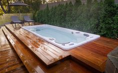 Swim Spa Installation Ideas - Brady's Pool & Spa