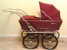 .pedigree dolls pram, my friend and I had this exact one and also; a blue one and a green one