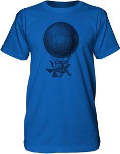 Mintage Magnificent Air Machine Mens Fine Jersey Tall T-Shirt