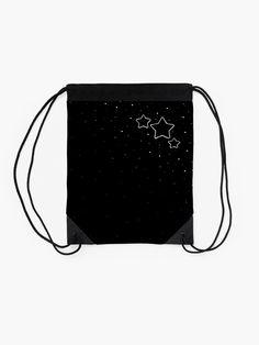"""Copy of Star Trio - black"" Drawstring Bag by LAEC-Shop | Redbubble"