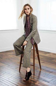 Olivia Palermo para Nordstrom (Blazer, top y pantalones)
