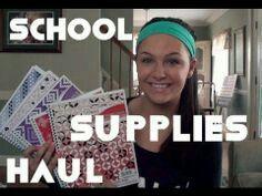 Clancy school supplies haul