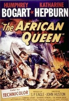 The African Queen (1951) - Humphrey Bogart & Katharine Hepburn - Awesome!