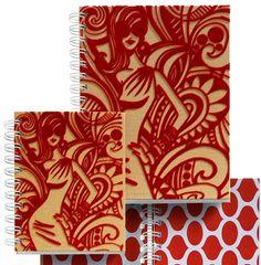 *CLOSEOUT Blowout* Jordi Labanda Velvet & Cardboard Journal - Model