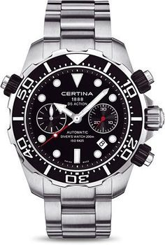Certina Watch DS Action Chrono Divers Automatic #bezel-unidirectional…