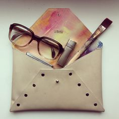 Aquarell Clutch