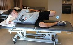 This ITB exercise stretches the lateral aspect of your knee.