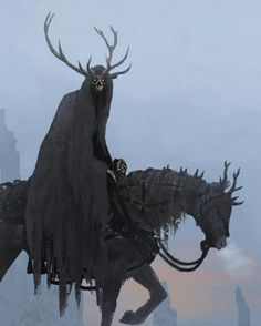 Horned wraith Tag a friend and leave a comment below and give us a story on the rider and the horse  . . #paintingswow #artstation #cgsociety #digitalillustration #fantasypainting #dailyart #photoshopart #artdigital #bestartfeatures #digitalartist #digitalartwork #artanddesign #coolart #fantasyartist #epicfantasy #instagood #storytelling #2dart #photoshop #instaart
