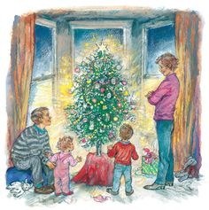 Shirley Hughes: Alfie's 12 Days of Christmas gallery – in pictures