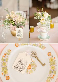 This would look lovely for a tea Party wedding reception.