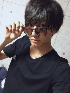 Kosaka Ryotaro - Tsukki Haikyuu Live Action, Tsukishima Kei, Stage Play, Haikyuu Anime, Real Man, Anime Guys, Fangirl, It Cast, Japanese