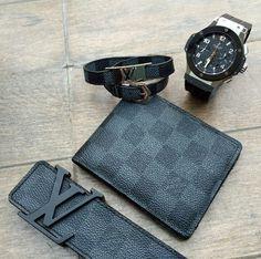 LV Belt/LV Wallet/LV Bracelet/Hublot Watch