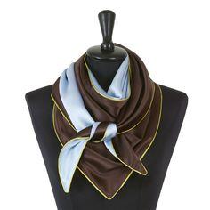 Dreieckschal Moitié-Carré Satin, Accessories, Fashion, Triangles, Light Blue, Silk, Get Tan, Moda, Fashion Styles