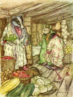 Arthur Rackham illustration from Wind in the Willows by Kenneth Grahame
