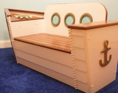 Boat Toy Box, Toy Chest, Nautical Bench, Boat Bench, Toy Boat, Nautical Nursery, Playroom furnitur, Kids room furniture, kids furniture - Edit Listing - Etsy