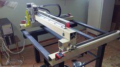 Machine Tools, Cnc Machine, Homemade Cnc, Diy Cnc Router, 3d Printer Kit, Cnc Plans, Plasma Table, Cnc Projects, Dremel