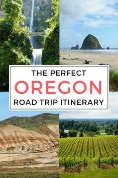 10-day Oregon road trip itinerary. Planning an Oregon road trip? Visit Crater Lake National Park, McKenzie River, Cannon Beach, and more! Amazing things to do for your bucket list Oregon family vacation.  #Oregon #roadtrip #USAtravel #adventuretravel