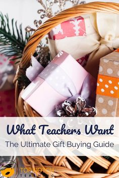 What Teachers Want: The Ultimate Gift Buying Guide - Top Notch Teaching In Der Disco, Teaching Posts, Teaching 5th Grade, The Ultimate Gift, Teacher Style, School Gifts, Teacher Appreciation, Stocking Stuffers, Teacher Gifts