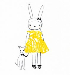 fifi and stella by *FIFI-LAPIN*, via Flickr