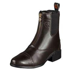 Ariat Ladies Heritage III Zip Paddock Boots Chocolate