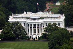 White House seen from Washington Monument