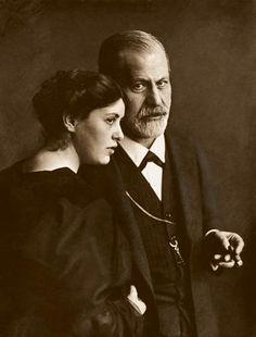 Lou Andreas Salome y Sigmon Freud