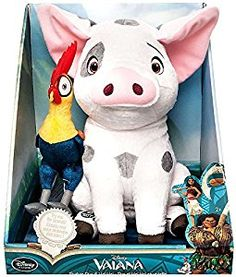 Pua and Heihei Talking Plush Set