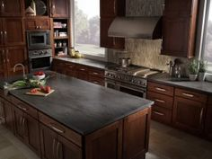 High Quality Slate Countertops For Your Bathroom And Kitchen | Lemon Oil, Steel Wool And  Countertops