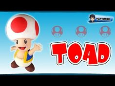 Toad (Mario) - Polymer Clay TUTORIAL (Fimo) - YouTube