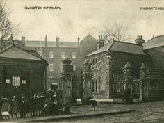 Islington Poor Law Infirmary, Highgate Hill, London