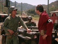 #mash #M*A*S*H - Hawkeye Pierce and Col. Flagg