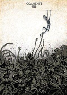 Steve Cutts - Artist http://www.stevecutts.com
