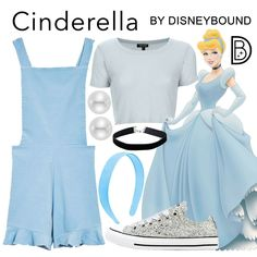 Disney Costume [[MORE]]Pinafore: Top: Sneakers: Headband: Earrings: Choker: Femme Luxe Disney Bound Outfits Casual, Cute Disney Outfits, Disney Themed Outfits, Disneyland Outfits, Disney Dresses, Teen Fashion Outfits, Modern Disney Outfits, Disneyland Trip, Princess Inspired Outfits