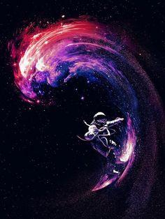Surfeando las estrellas...