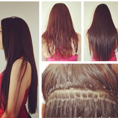 Micro bead extensions before and after last up to 6 months hair before and after microbead hair extensions pmusecretfo Gallery