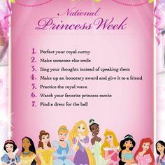 Happy National Princess Week!!