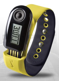 Nike+ Sportband 2 (CA/EU/AU) - Running Accessories - Sonic Yellow-Imperial Purple