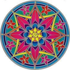 Ohm Flor Mandala Sunseal