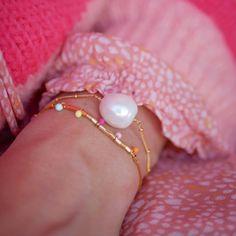 Bracelet, Coco Baroq deguy.no Baroque, Enamel, Pearl Earrings, Pearls, Bracelets, Elegant, Jewelry, Inspiration, Products