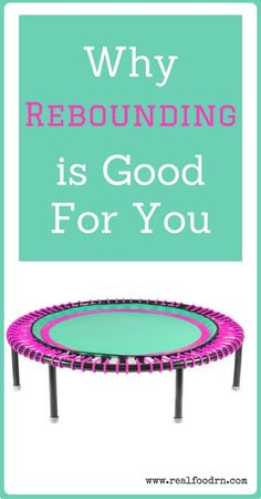 Why Rebounding is Good for You. Rebounding is becoming all the rage these days in the fitness world. It has been linked to a variety of health benefits, and is even backed by NASA! Astronauts used rebounding as a way to help rebuild bone mineralization an Mini Trampoline Workout, Rebounder Trampoline, Things That Bounce, Good Things, Tomato Nutrition, Stomach Ulcers, Coconut Health Benefits, Natural Cures, Health Tips