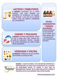 como colocar los alimentos en la nevera - www.AorganiZarte.com