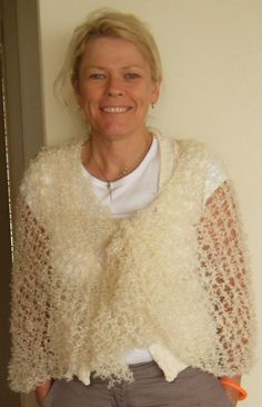 Hand Dyed Mohair Shawl or Wrap by trejul on Etsy, $40.00