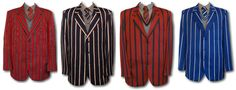 School uniform / boating venetian stripe blazers in adult sizes. This style of blazer is still worn by boys and girls at at many exclusive British schools. These traditional school blazers are made from 70% wool & 30% cotton, worsted woven fabric. | eBay!
