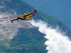 Incendi nel Gargano: canadair in azione - http://blog.rodigarganico.info/2015/cronaca/incendi-nel-gargano-canadair-in-azione/